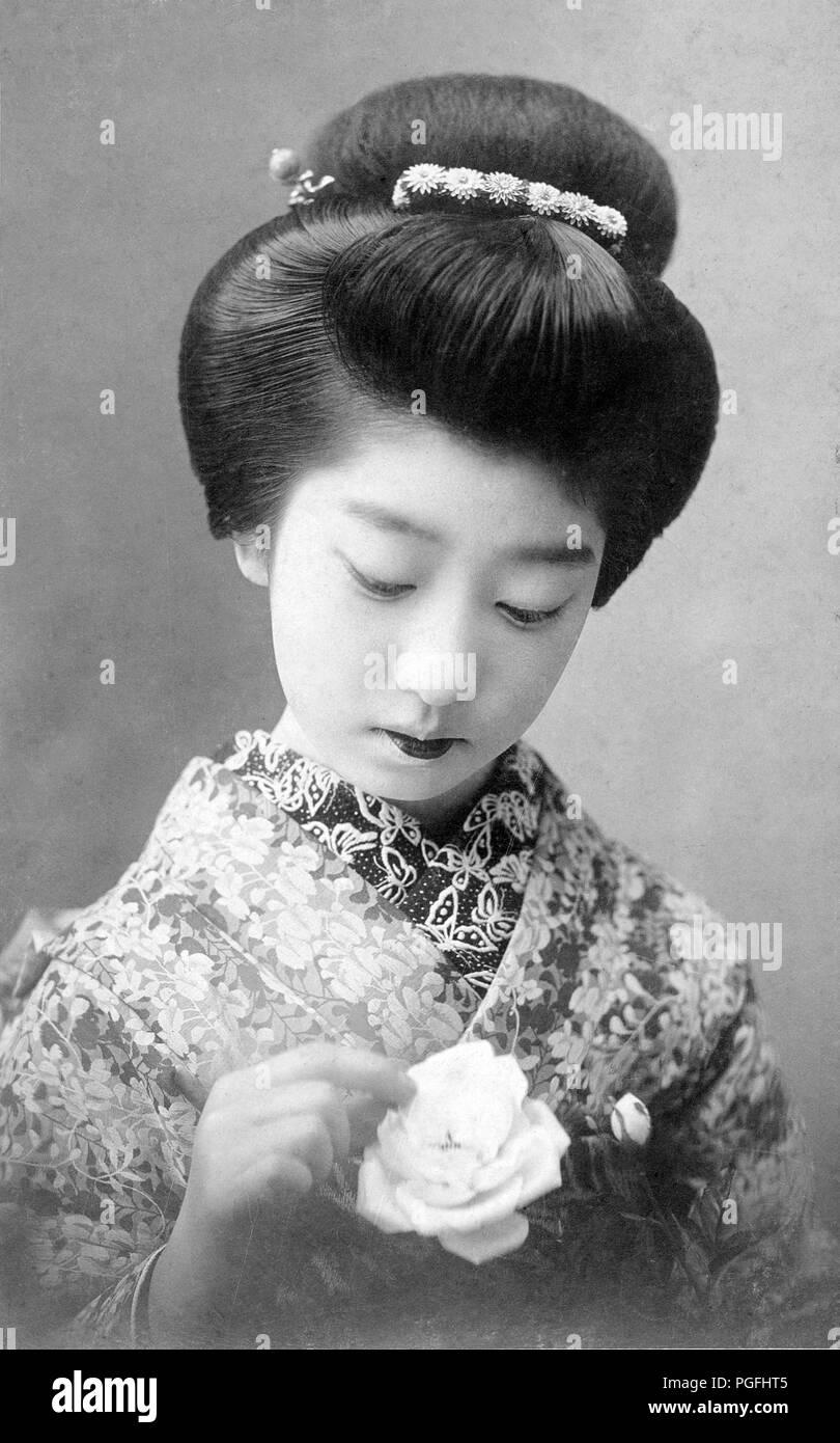 Ch Annees 1910 Japon Jeune Japonaise Jeune Japonaise Maiko En