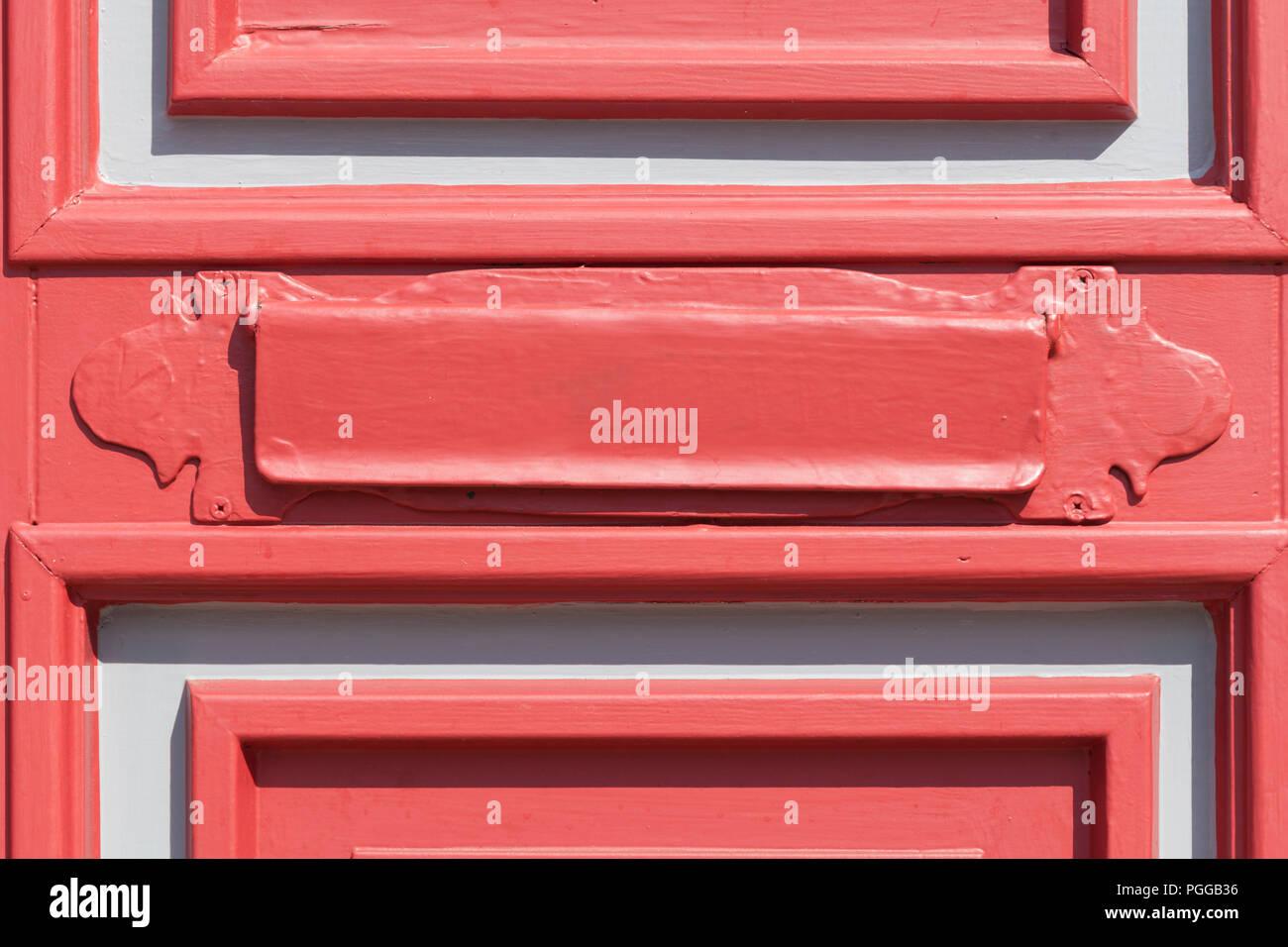 Ancienne Boite Aux Lettres Rouge Lettre Nienburg An Der Weser
