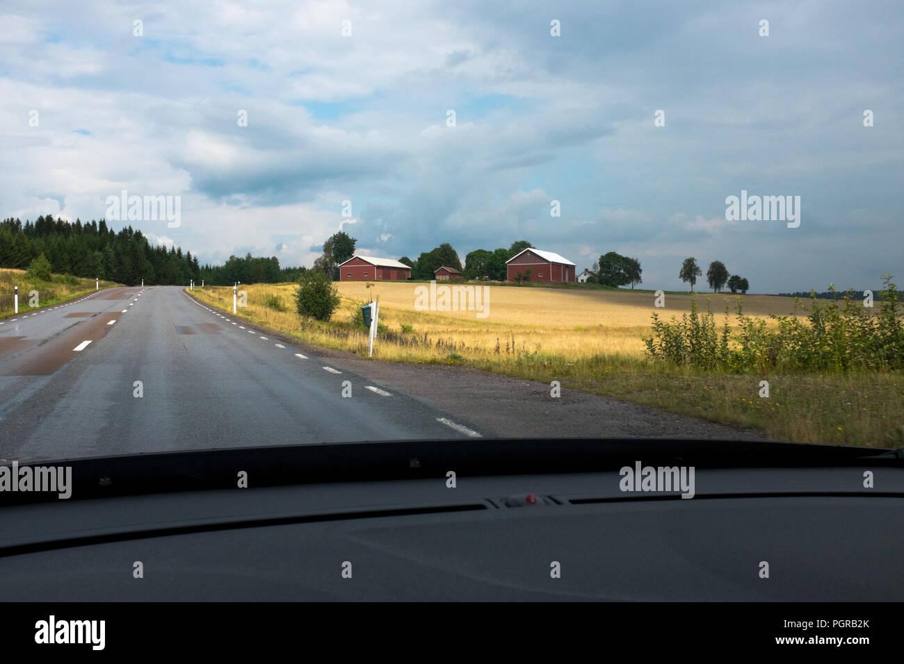 Roadtrip Statistik im Sommer Banque D'Images