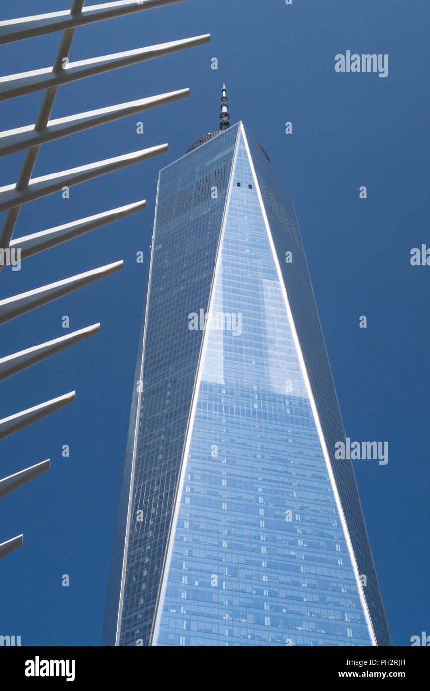World Trade Center dans le Lower Manhattan, NYC, USA Photo Stock