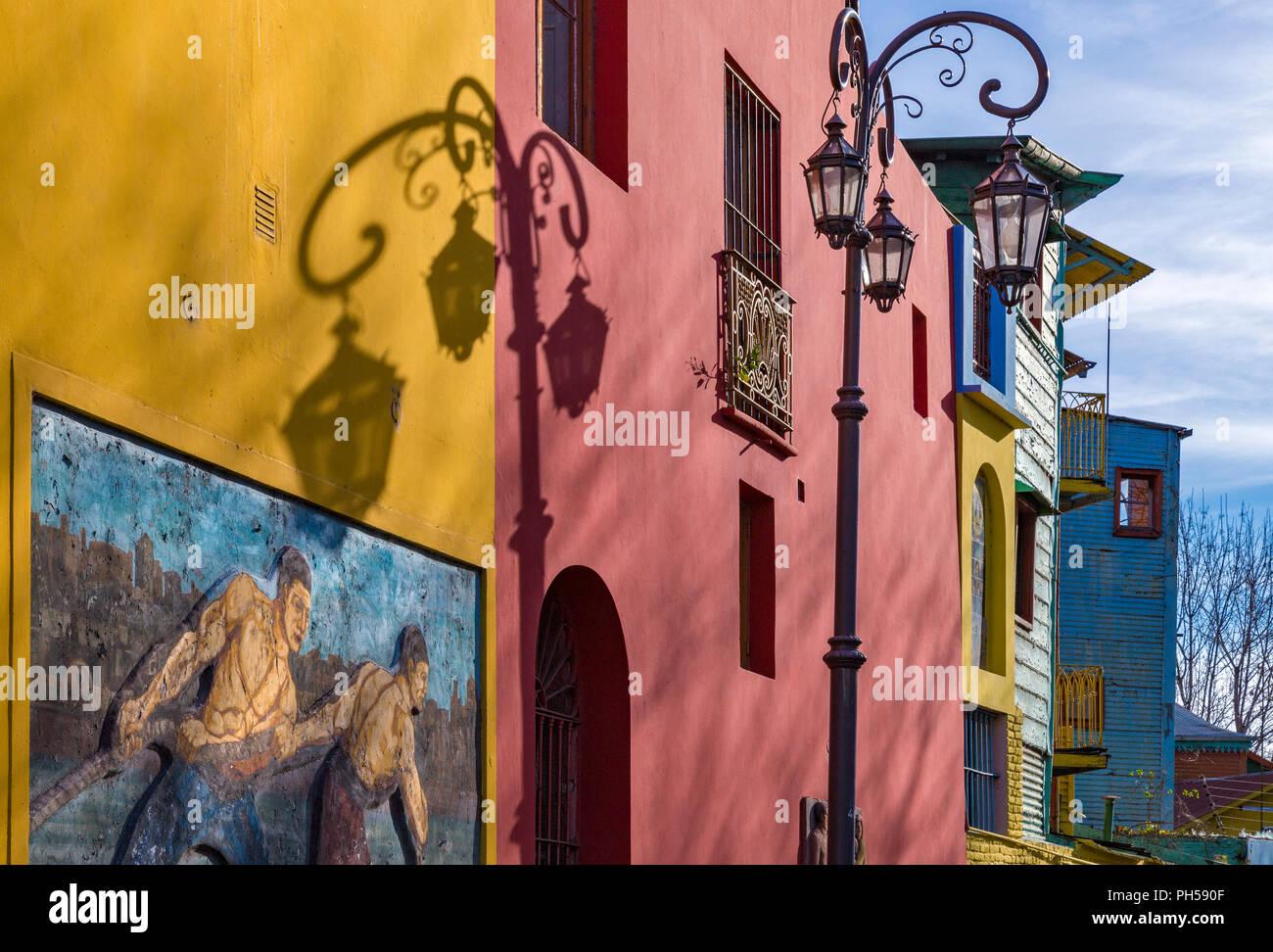 Caminito. La Boca, Buenos Aires, Argentine Photo Stock