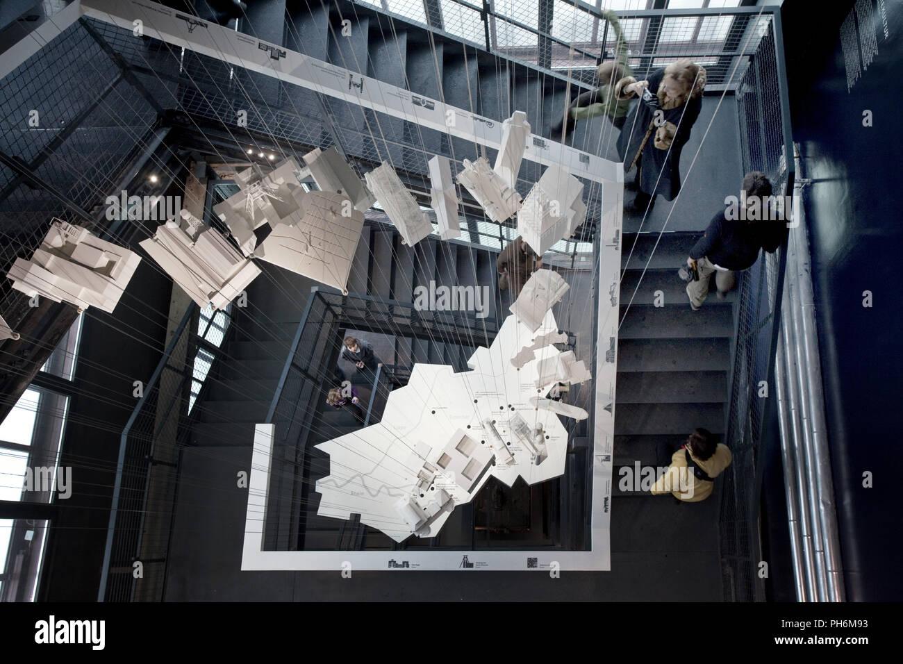 Portail du patrimoine industriel, Zollverein, Essen Photo Stock