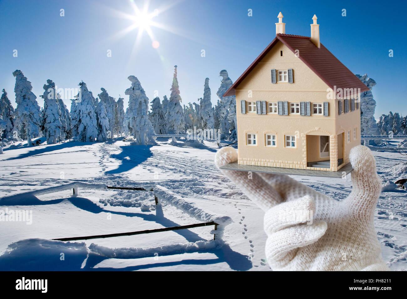 isolation maison hiver