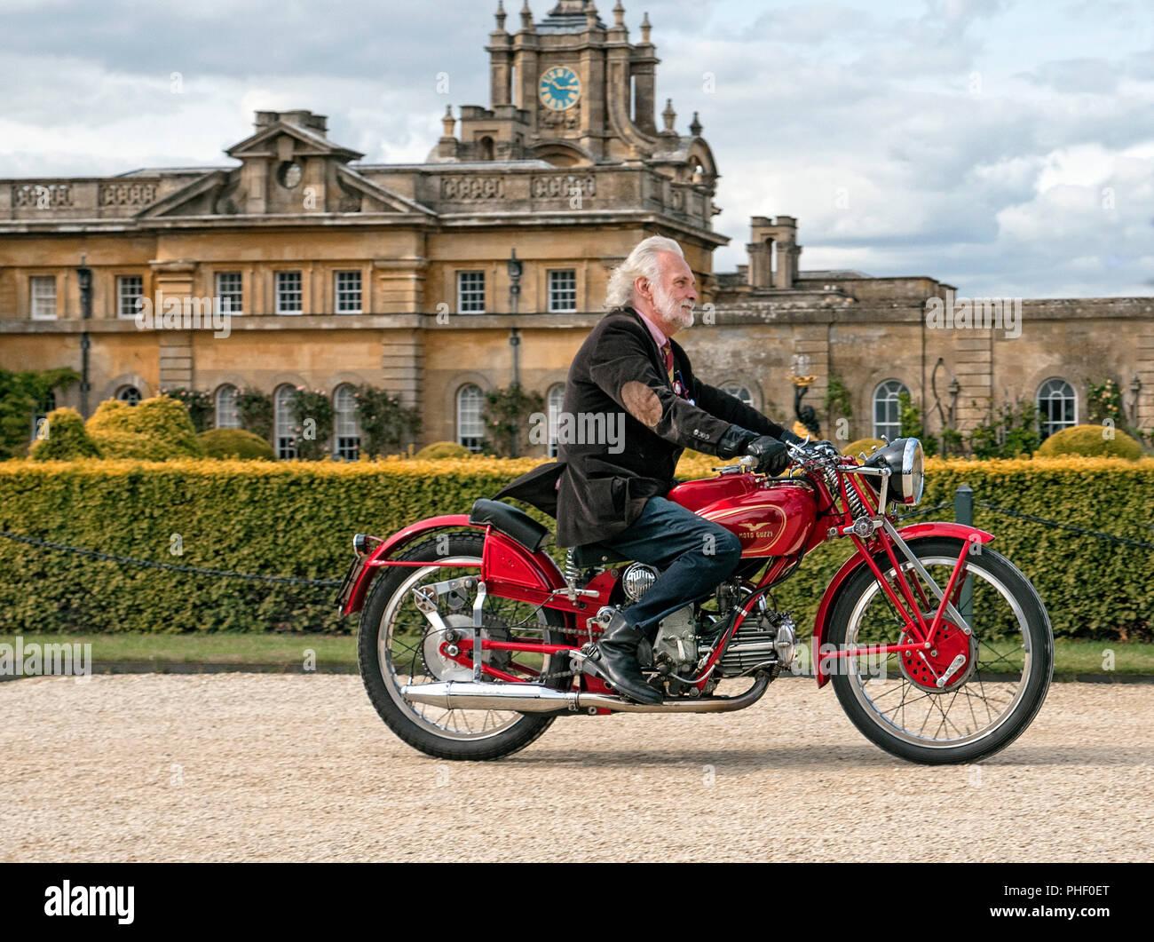 1938 Moto Guzzi GTC Leggera au Salon Prive 2018 Blenheim Palace à Woodstock Oxfordshire, UK Banque D'Images