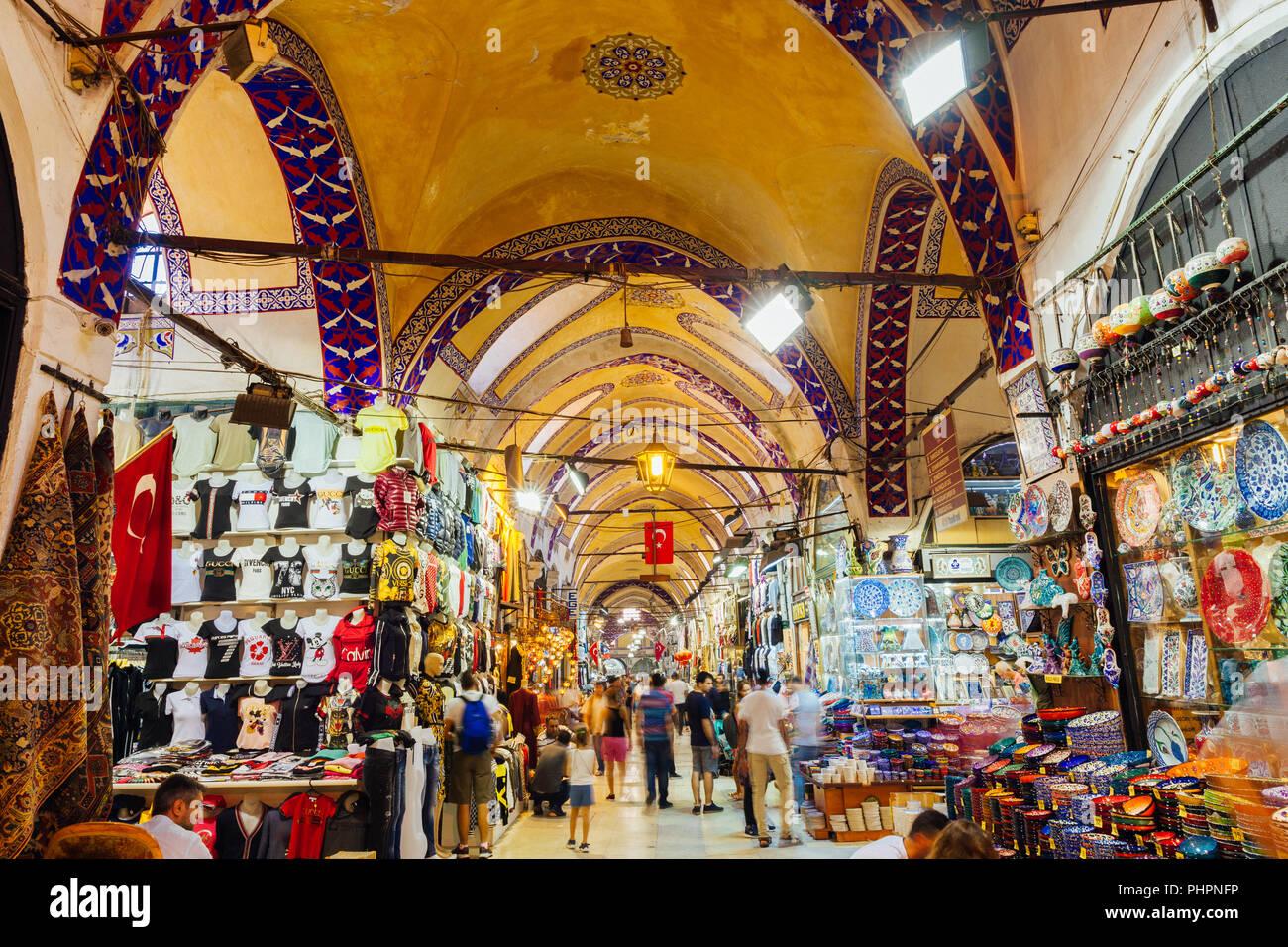 86c33f419c70 Istanbul, Turquie - le 14 août 2018   l intérieur du bâtiment historique  célèbre