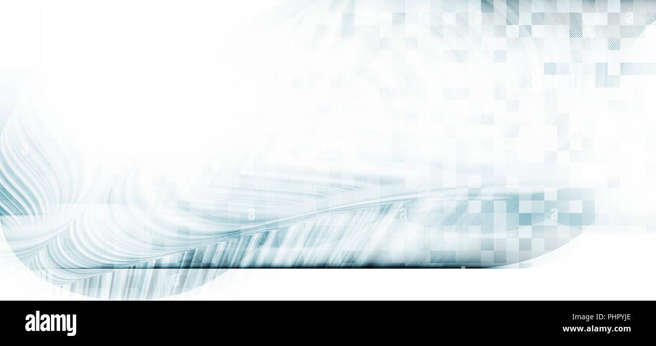 Les lignes de mouvement concept abstrait arrière-plan, horizon, tout droit Photo Stock