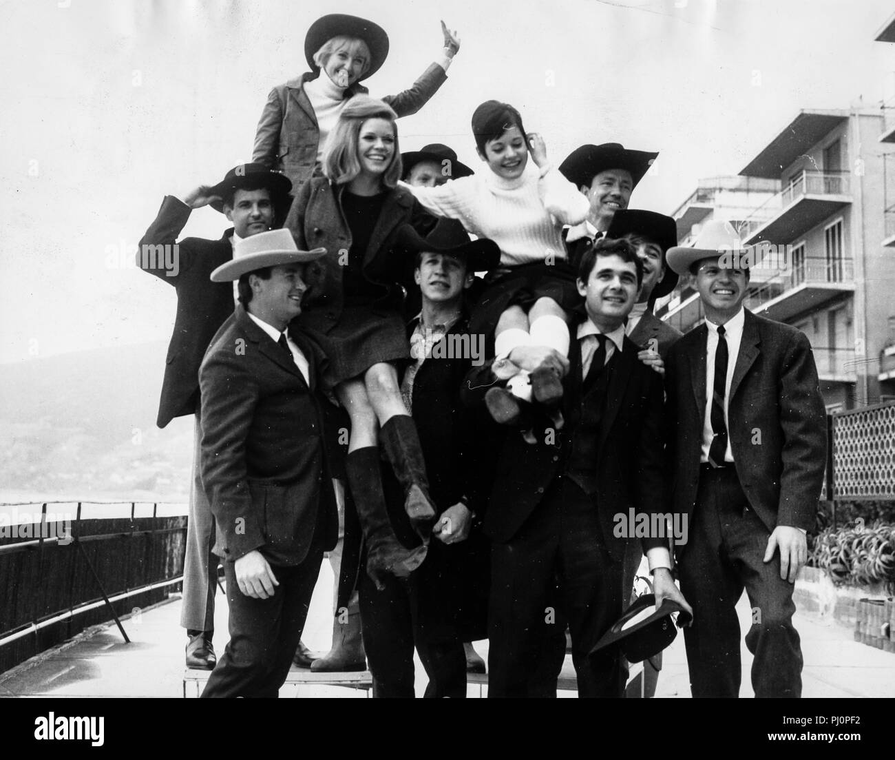 La nouvelle christy minstrels anna sanremo 1966 portante photo stock