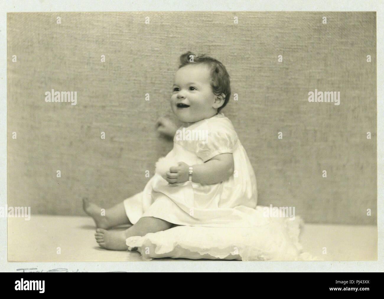 Bébé Alfie Fripp. Photo Stock