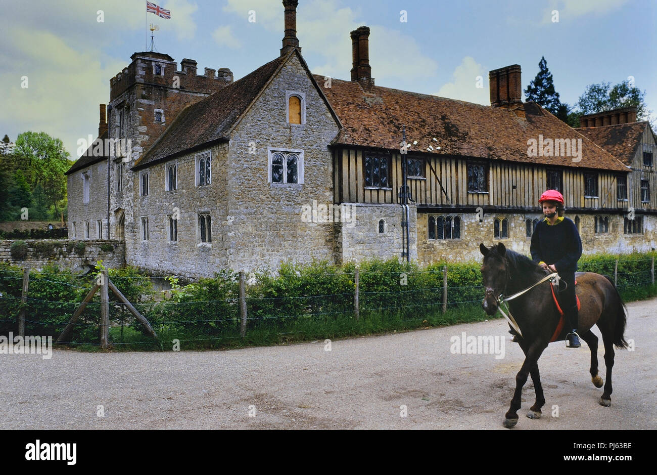 Ightham Mote, Kent, England, UK Photo Stock