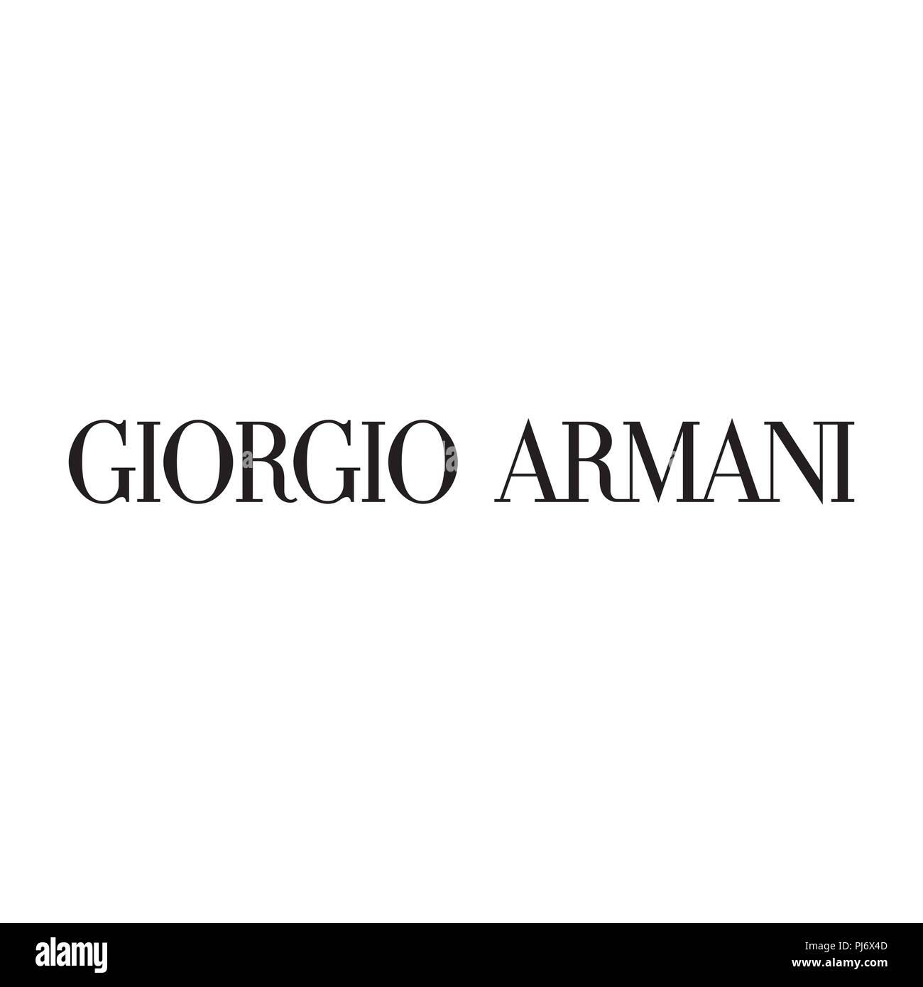 Giorgio Armani mode vêtements de marque de luxe logo illustration ... 972794cf0246