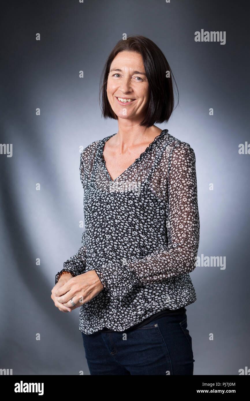 Edinburgh, Royaume-Uni. 20 août, 2018. Sarah Rainsford est un correspondant étranger de la BBC et l'auteur. Photographié à l'Edinburgh International Book Festival. Edimbourg, Ecosse. Photo par Gary Doak / Alamy Live News Banque D'Images