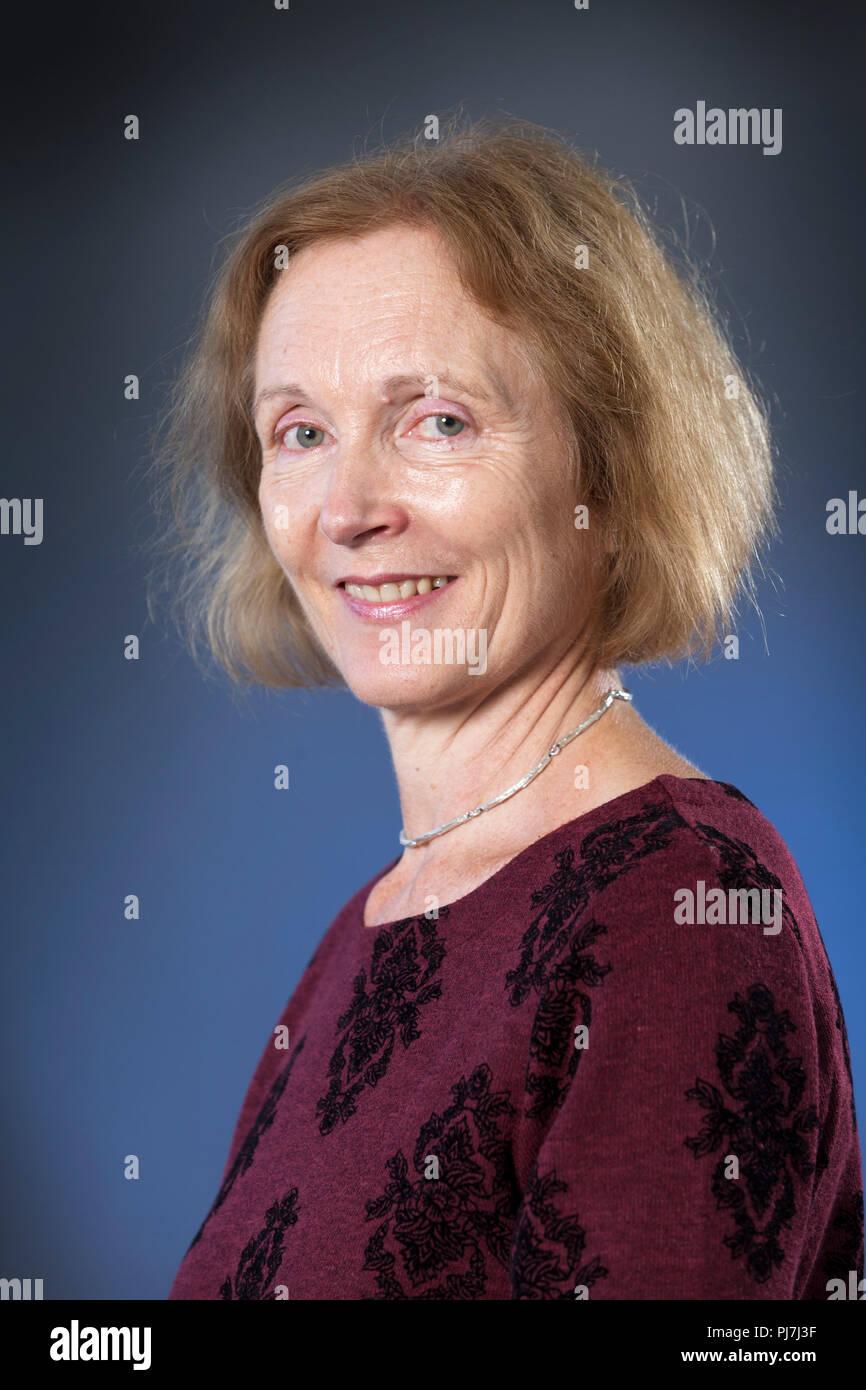 Edinburgh, Royaume-Uni. Le 22 août, 2018. Teresa Thornhill est un linguiste, écrivain et avocat protection de l'enfant avec un intérêt spécial au Moyen-Orient. Photographié à l'Edinburgh International Book Festival. Edimbourg, Ecosse. Photo par Gary Doak / Alamy Banque D'Images