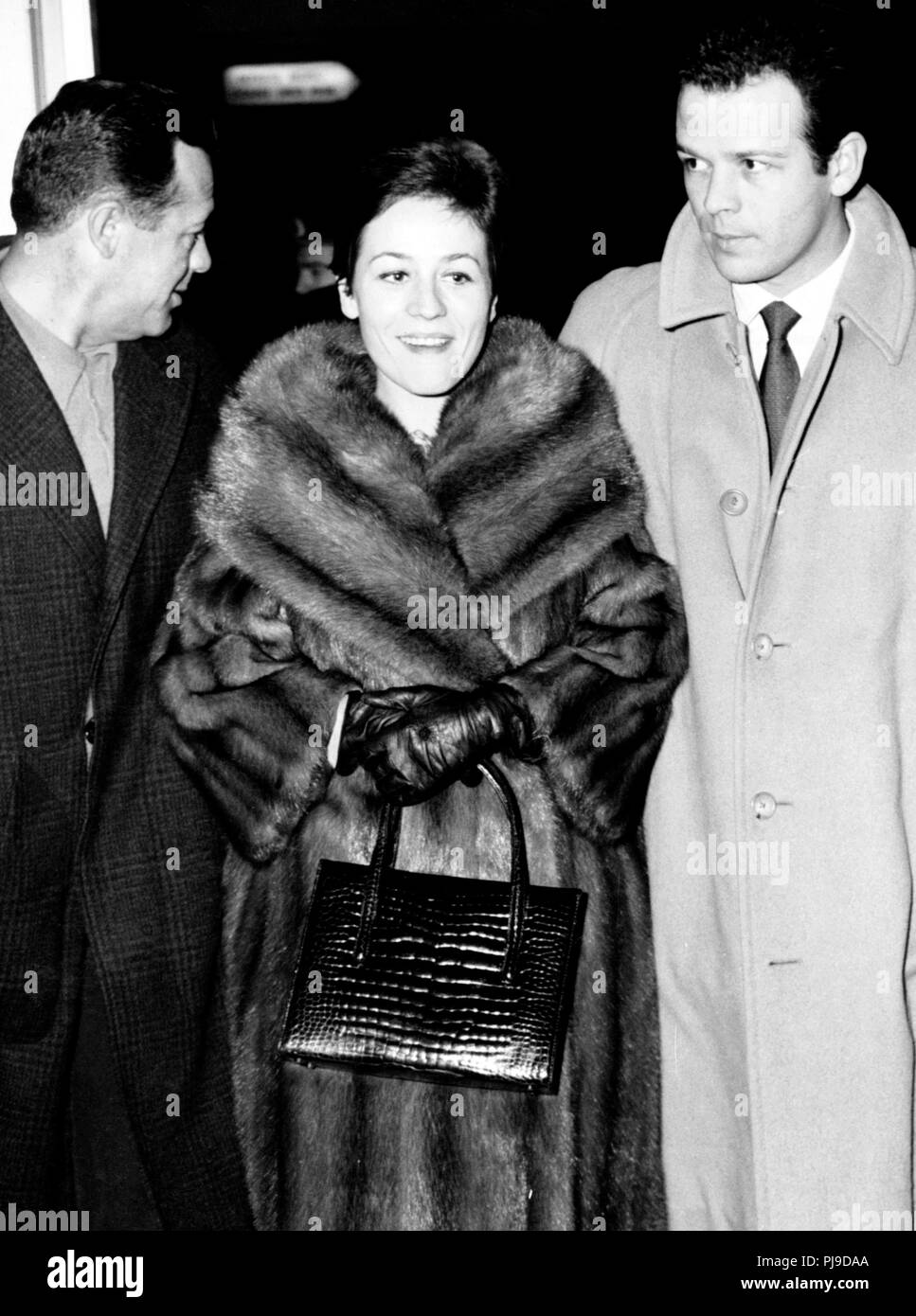 Annie Girardot, renato salvatori, 1962 Banque D'Images