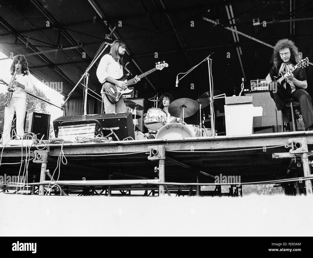 King Crimson, 70 Photo Stock