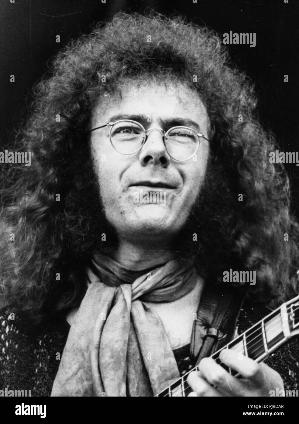 Robert Fripp, King Crimson, 70 Photo Stock