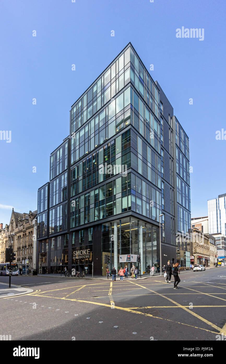 Immeuble 2, rue de l'Ouest à l'angle de West Nile Street à Glasgow Scotland UK Banque D'Images