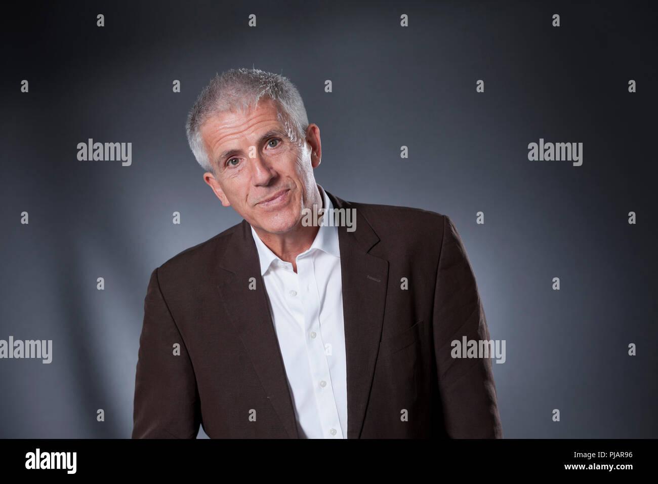 Edinburgh, Royaume-Uni. 20 août, 2018. Patrick Gale, le romancier britannique. Photographié à l'Edinburgh International Book Festival. Edimbourg, Ecosse. Photo par Gary Doak / Alamy Live News Banque D'Images