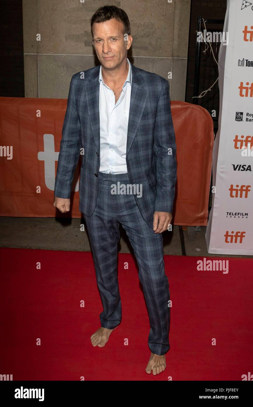 Thomas Jane assiste à la première de 'l' au cours de la 43e Festival International du Film de Toronto, tiff, à Ryerson Theatre de Toronto, Canada, le 06 septembre 2018. Dans le monde d'utilisation   Banque D'Images