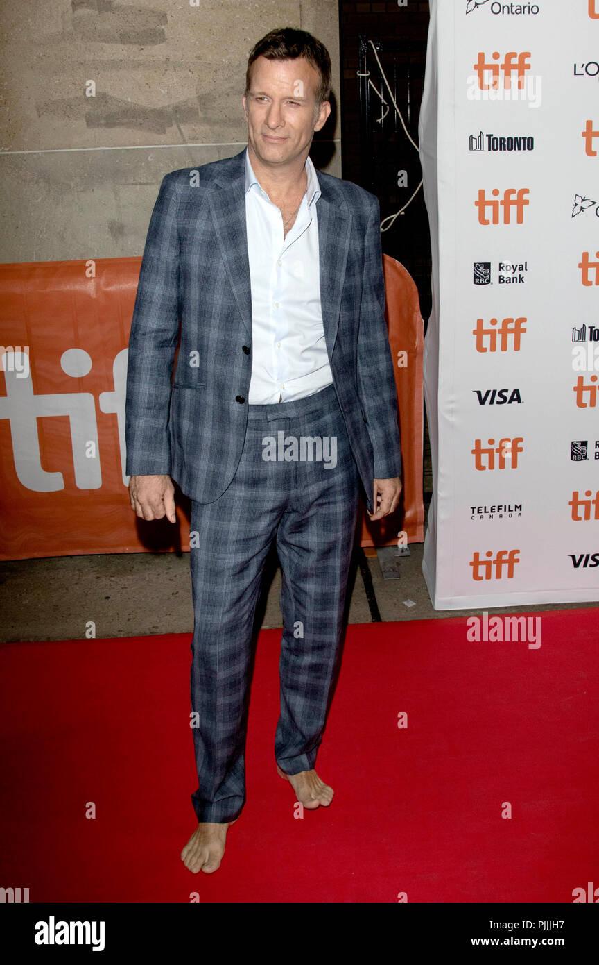 Thomas Jane assistant à la première de 'l' au cours de la 2018 Festival International du Film de Toronto le 6 septembre 2018 à Toronto, Canada. Banque D'Images