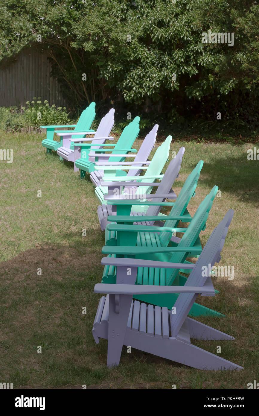 row of adirondack chairs photos & row of adirondack chairs images