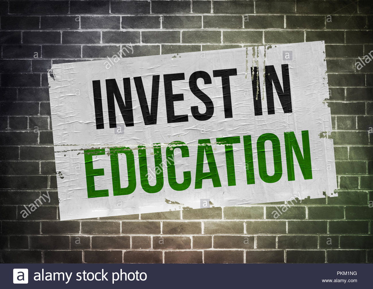 Investir dans l'éducation Photo Stock