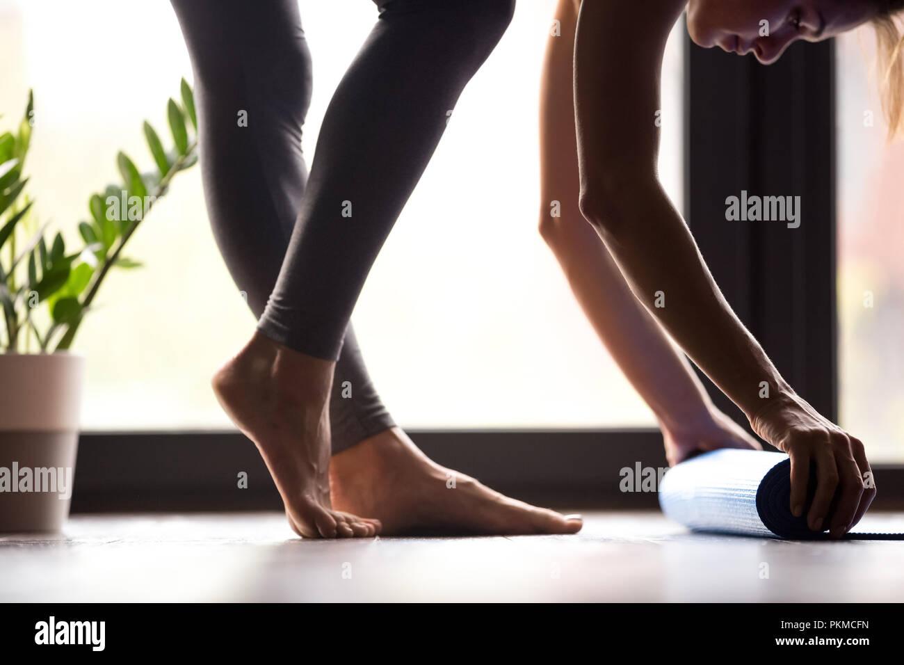 Moment de la condition physique ou la notion de pratique de sport Photo Stock