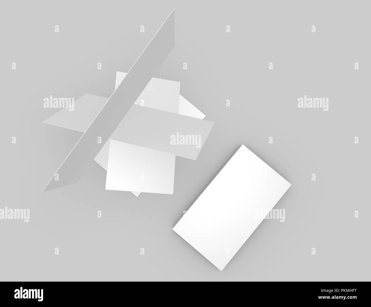 Carte De Simulation 3d Illustration Photo Stock