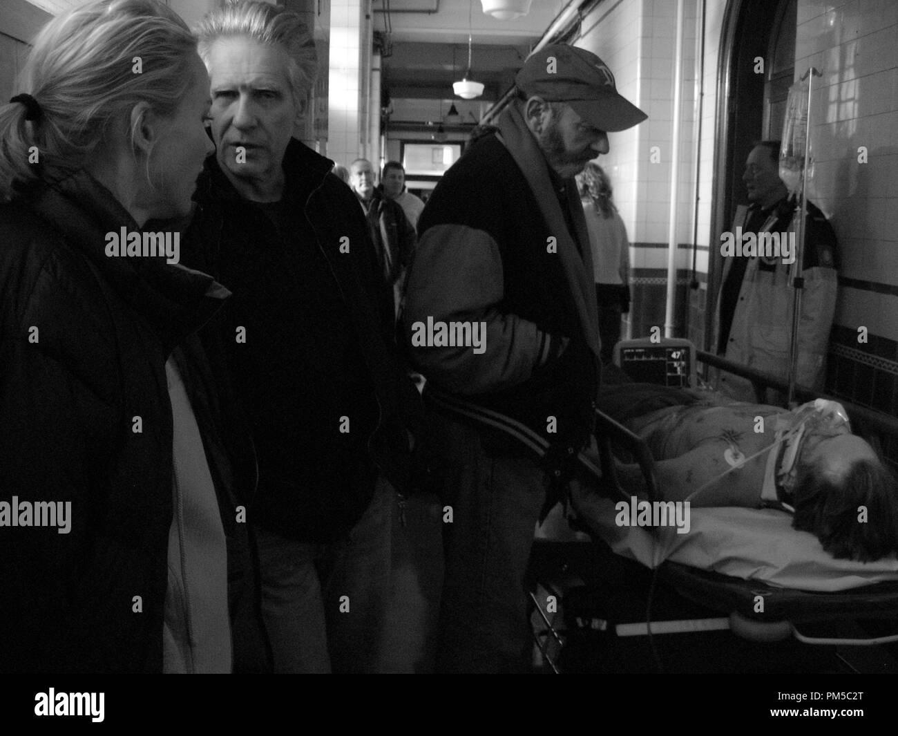Publicité studio de l'est encore 'promesses' réalisateur David Cronenberg © 2007 Focus Crédit Photo: Peter Mountain Référence de dossier # 30738872THA pour un usage éditorial uniquement - Tous droits réservés Banque D'Images