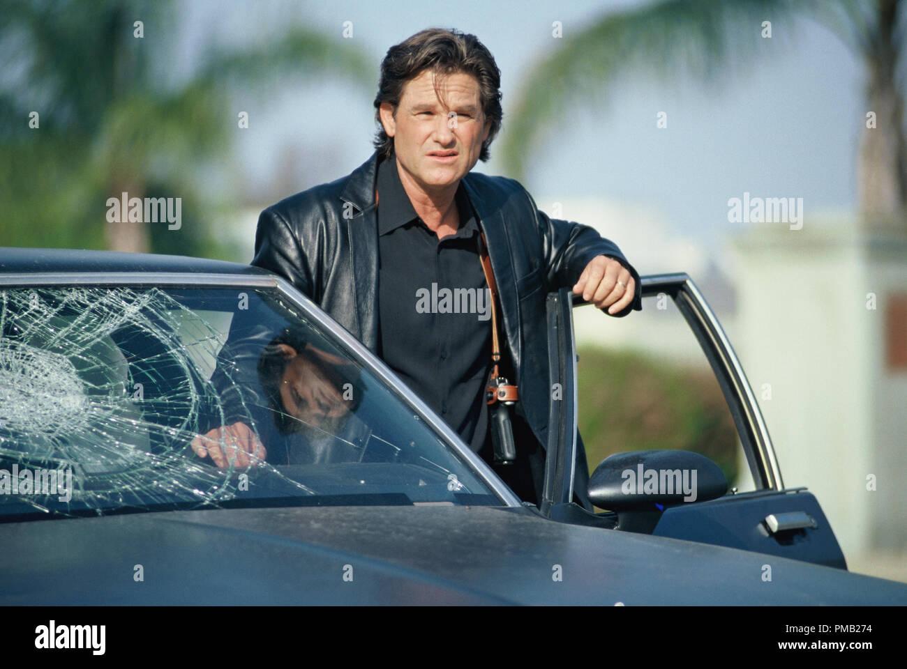 KURT RUSSELL incarne le détective vétéran L.A.P.D. Eldon Perry dans United Artists' drama bleu foncé. (2003) Photo Stock