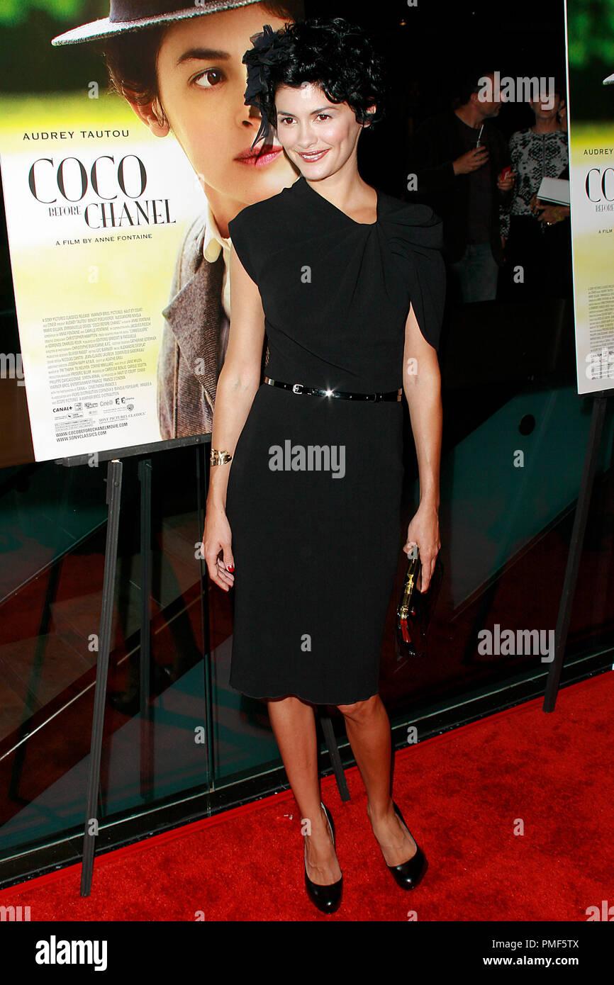 Audrey Tautou à la première de Sony Pictures Classics   Coco Avant Chanel . 2263f75841e