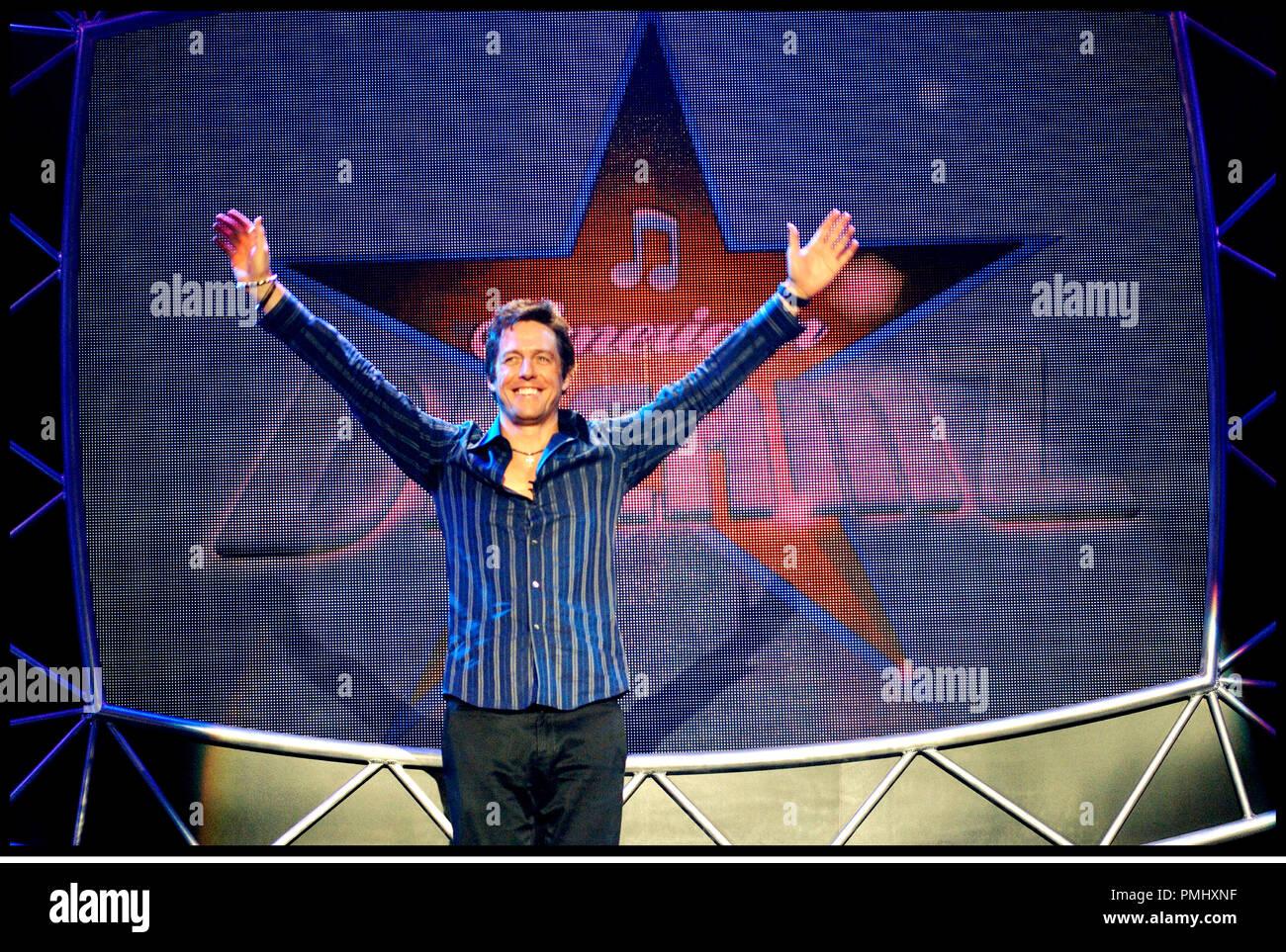 Prod DB © NBC Universal / DR AMERICAN DREAMZ (AMERICAN DREAMZ de Paul Weitz 2006) USA avec Hugh Grant show téléviser, spectacle, la télévision, la réalité-show,acclamation, star Photo Stock