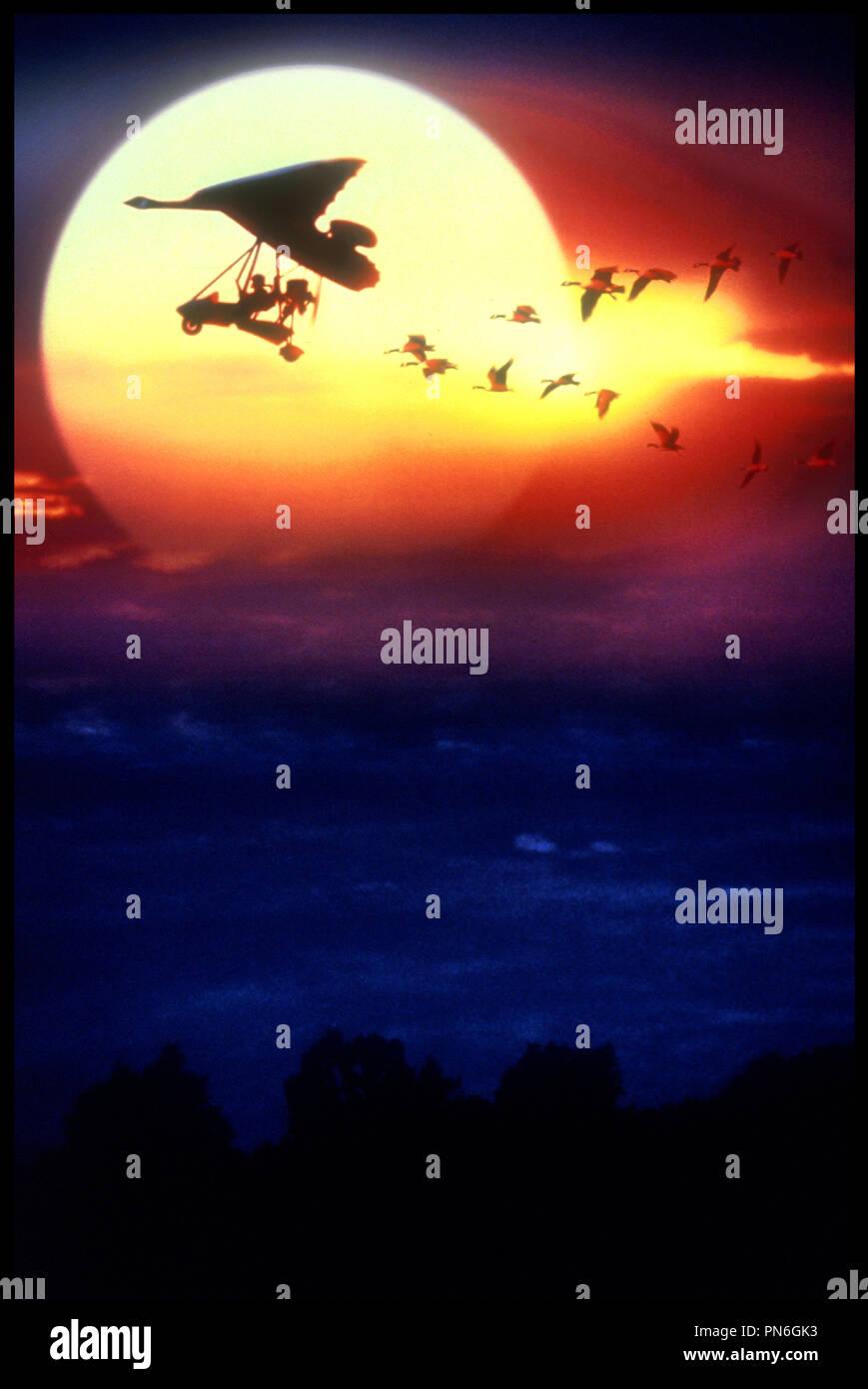 Prod DB © Columbia Pictures / DR L'ENVOLEE SAUVAGE (FLY AWAY HOME) de Carroll Ballard 1996 USA ulm, avion, voler, clichŽ, carte postale Photo Stock