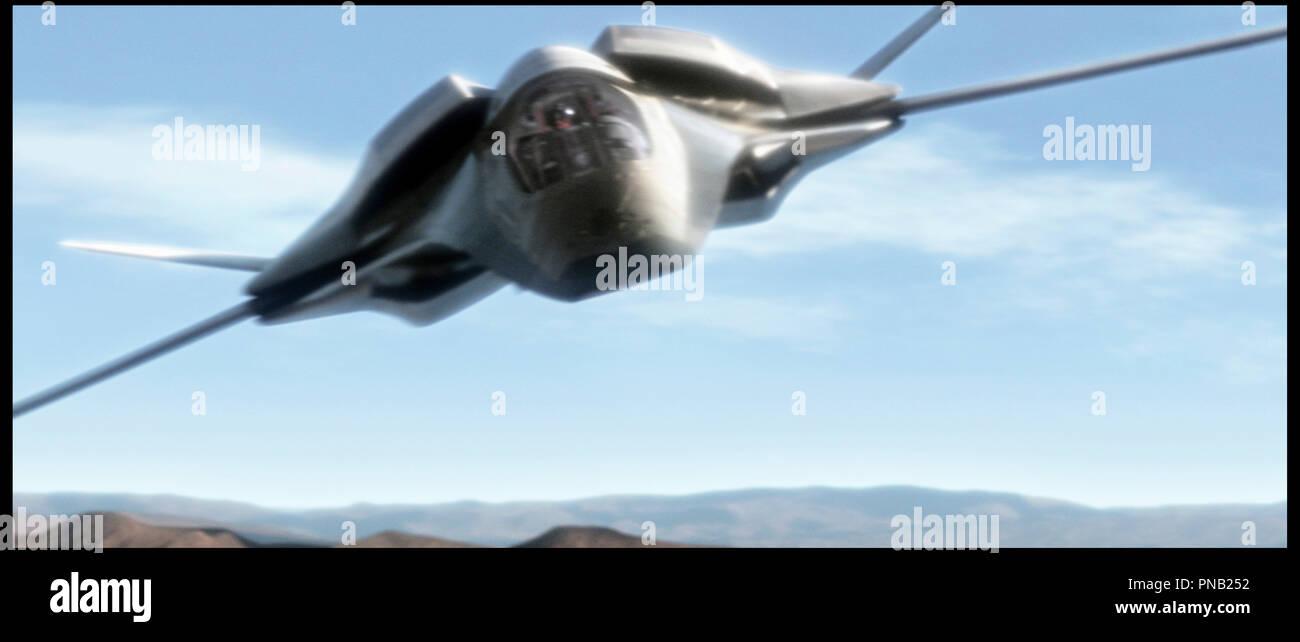 Prod DB © Columbia / DR furtif (stealth) de Rob Cohen 2005 USA avion combat aerien,, militaire, envol, diriger autour Photo Stock