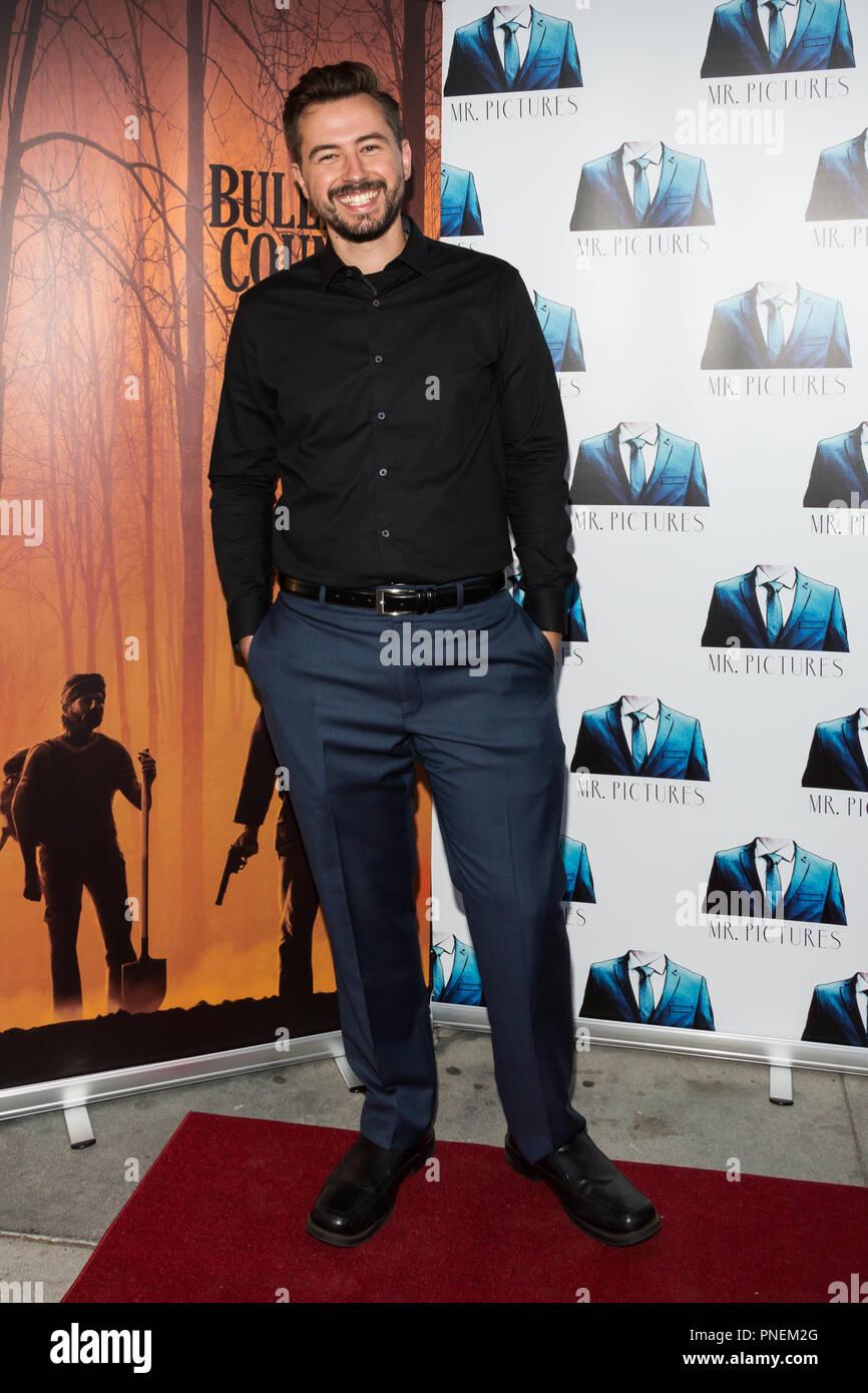 Los Angeles, USA. 13 Septembre, 2018. Sean McDaniel assiste à la projection spéciale de l'primé thriller Bullitt Comté. Photo Stock