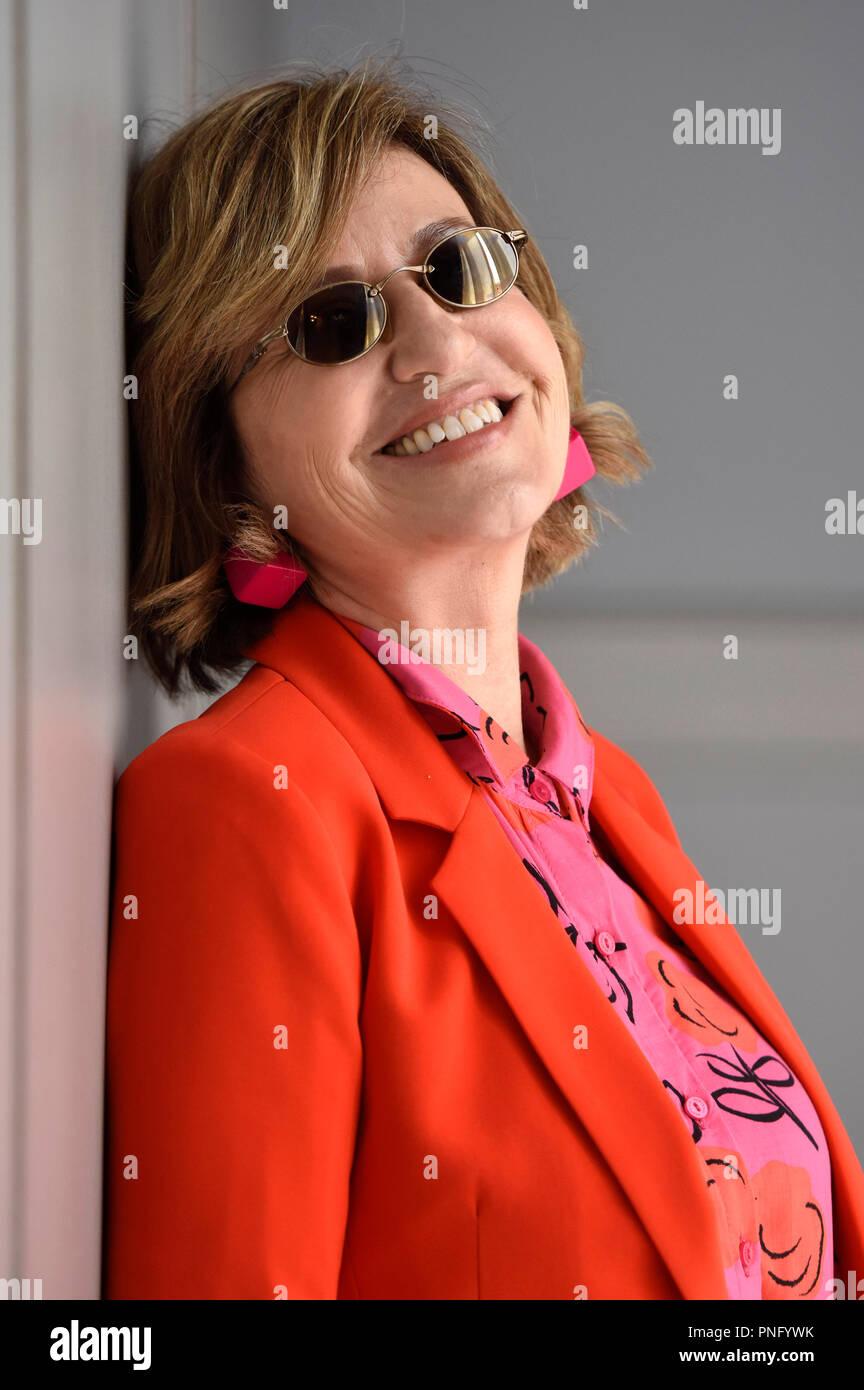 San Sebastian, Espagne. 21 septembre 2018. Mercedes Moran lors d'une séance photo exclusive à la 66e Festival International de San Sebastian à l'hôtel Maria Cristina, le 21 septembre 2018 à San Sebastian, Espagne. Banque D'Images