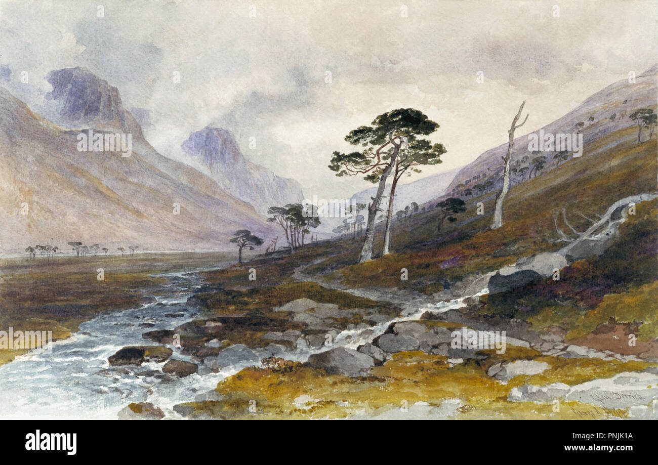 Fripp George Arthur - Glen Derry Photo Stock