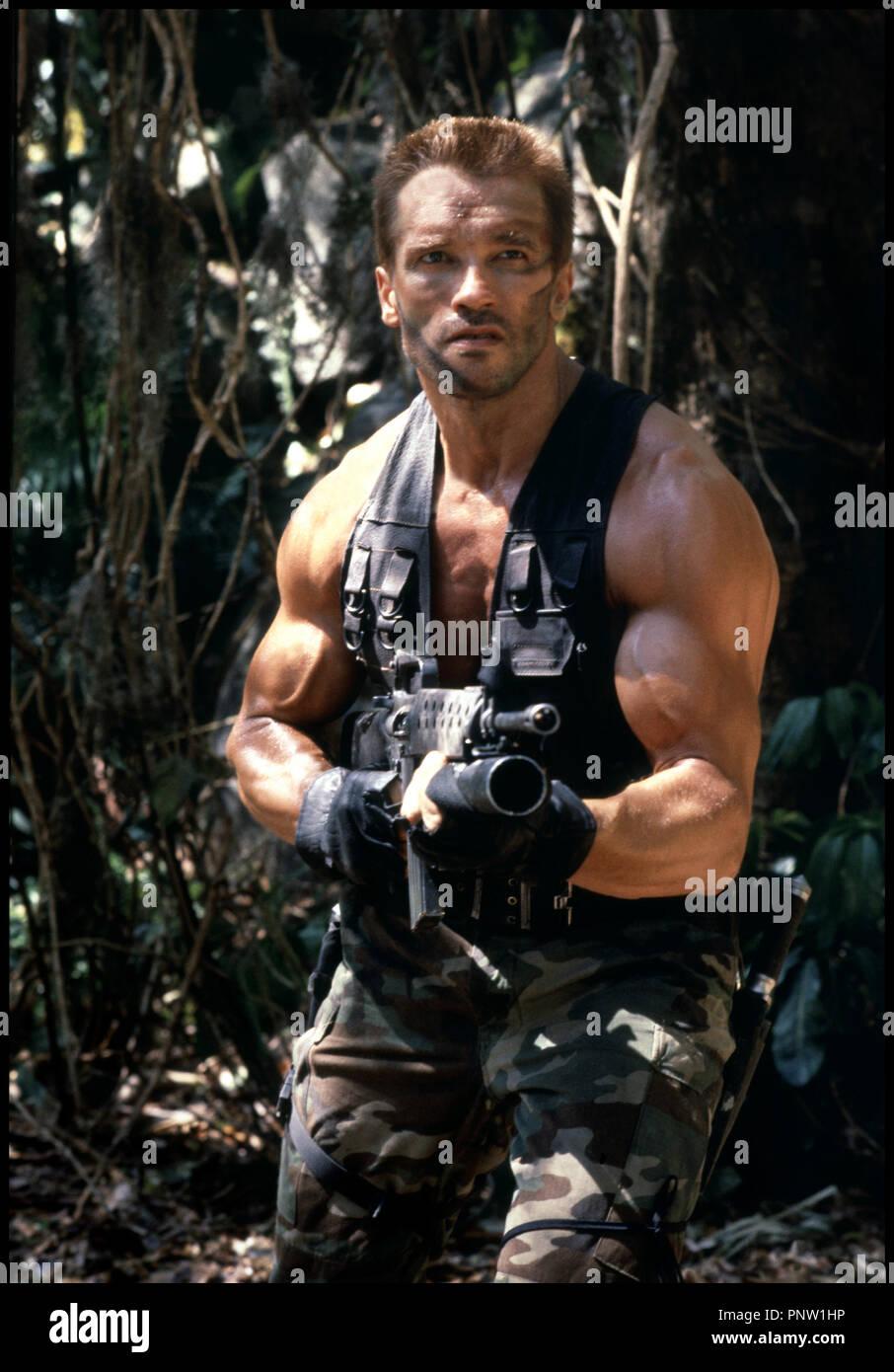 Prod DB © 20th Century Fox / DR prédateur (prédateur) de John Mc Tiernan  1987 USA avec Arnold Schwarzenegger jungle d\u0027AmŽrique du Sud, mercenaire,
