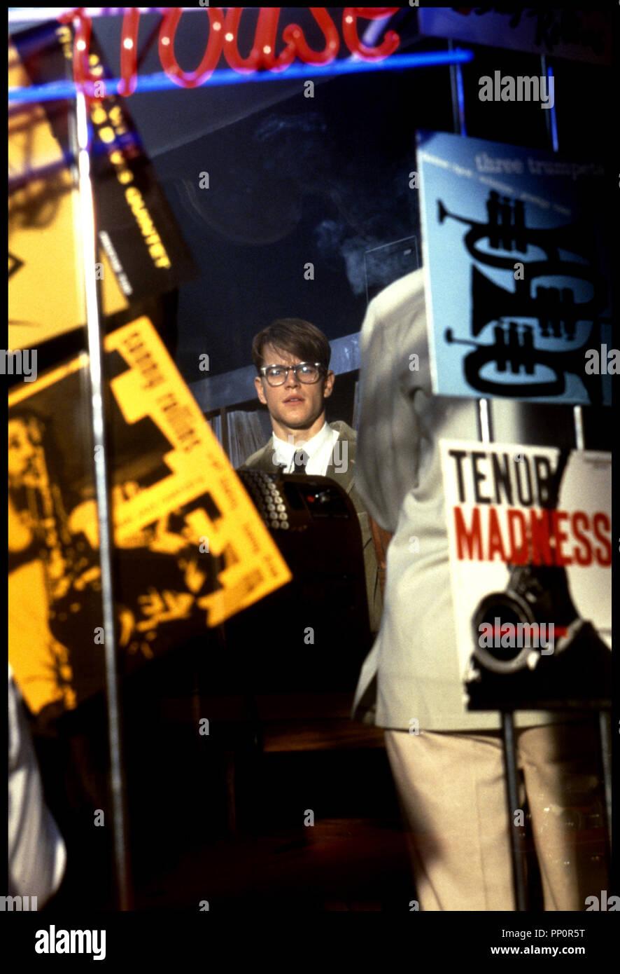 Prod DB © Paramount / DR Le talentueux Monsieur Ripley (Le talentueux Mr Ripley) de Anthony Minghella 1999 USA avec Matt Damon d'aprÂs le roman de Patricia Highsmith Photo Stock