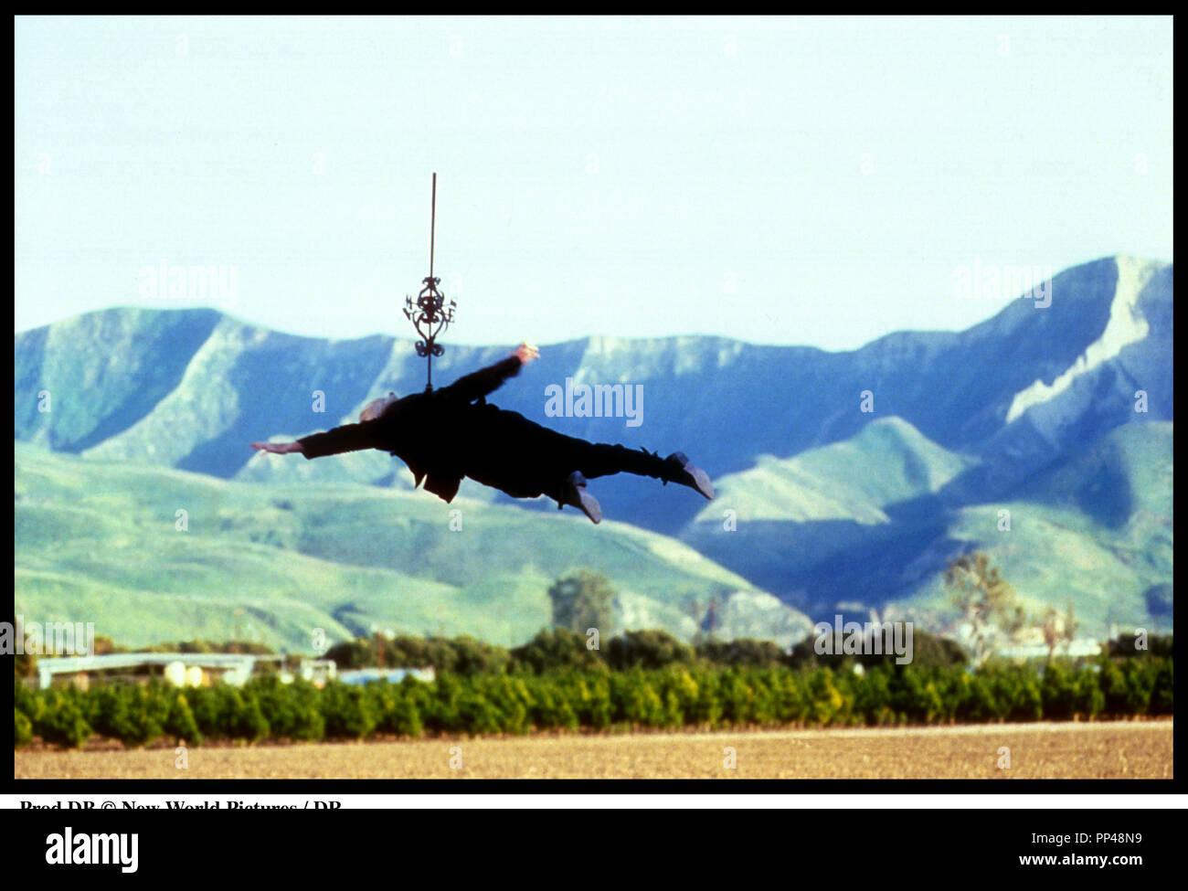 Prod DB © Nouveau Monde IMAGES / DR DÉMONISTE (WARLOCK) de Steve Miner 1989 USA avec Julian Sands sorcellerie, sorcier, planer, voler, Photo Stock