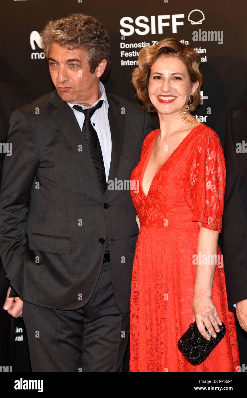 Ricardo Darin Et Mercedes Moran Participant à La Un Amour