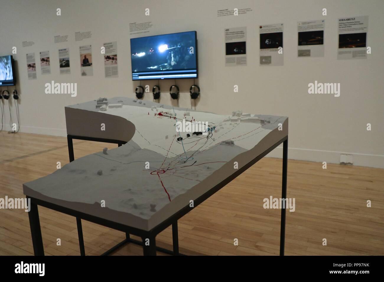 La Tate Britain Turner Prize artistes présélectionnés 1984-2018 Banque D'Images