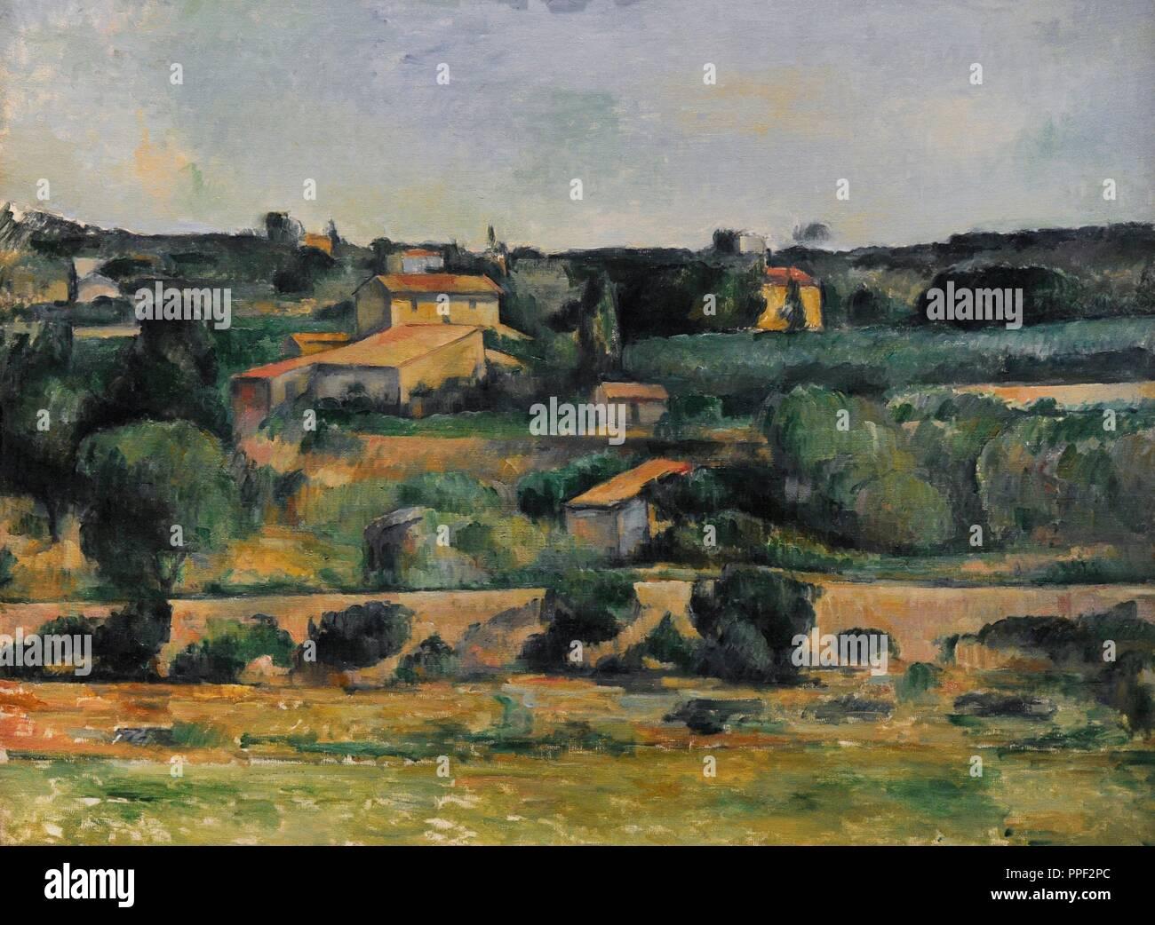 Le Peintre Français. Paysage Dans Lu0027ouest De Aix En Provence, Ca.1878).  Musée Wallraf Richartz. Cologne. Lu0027Allemagne.