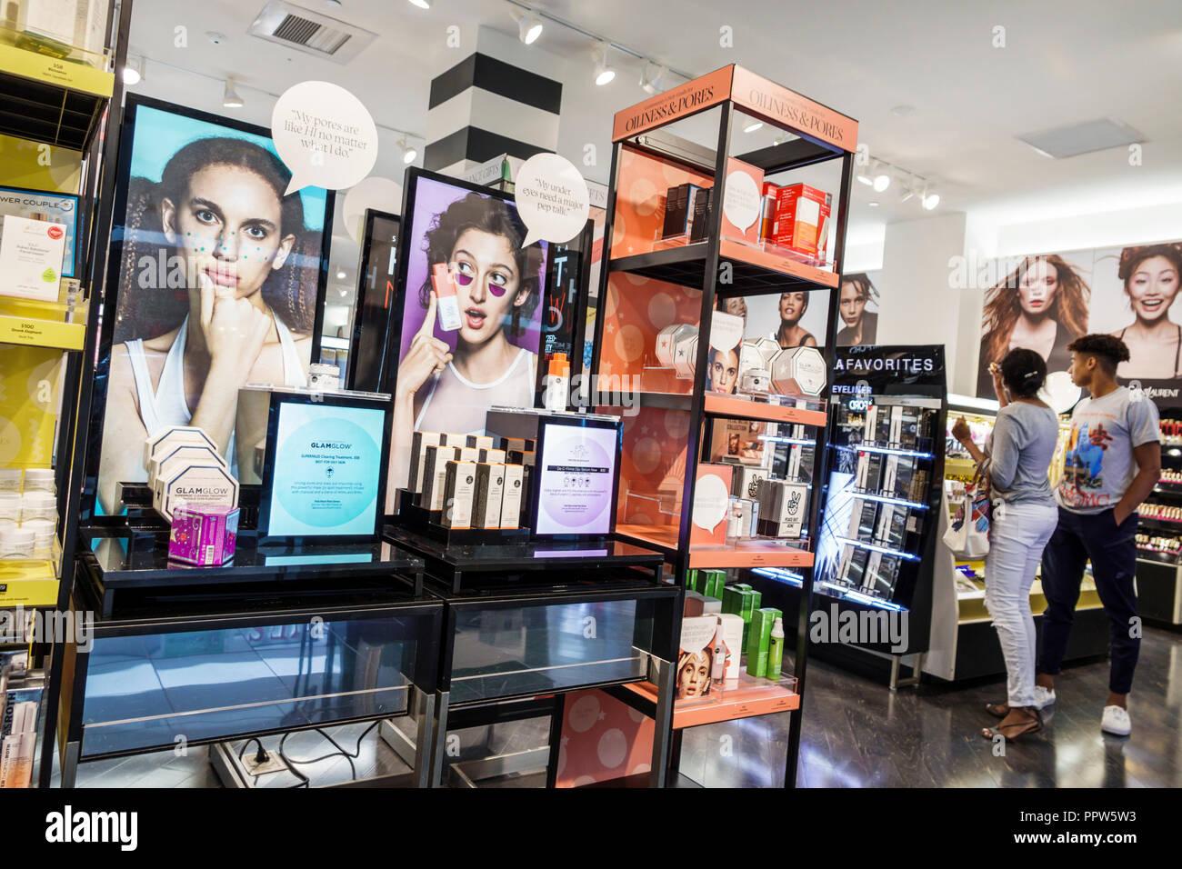 af9a3d721c Floride Miami Dadeland Mall Kendall shopping parfums Sephora entrée avant de  l'affichage à l'intérieur de la vente