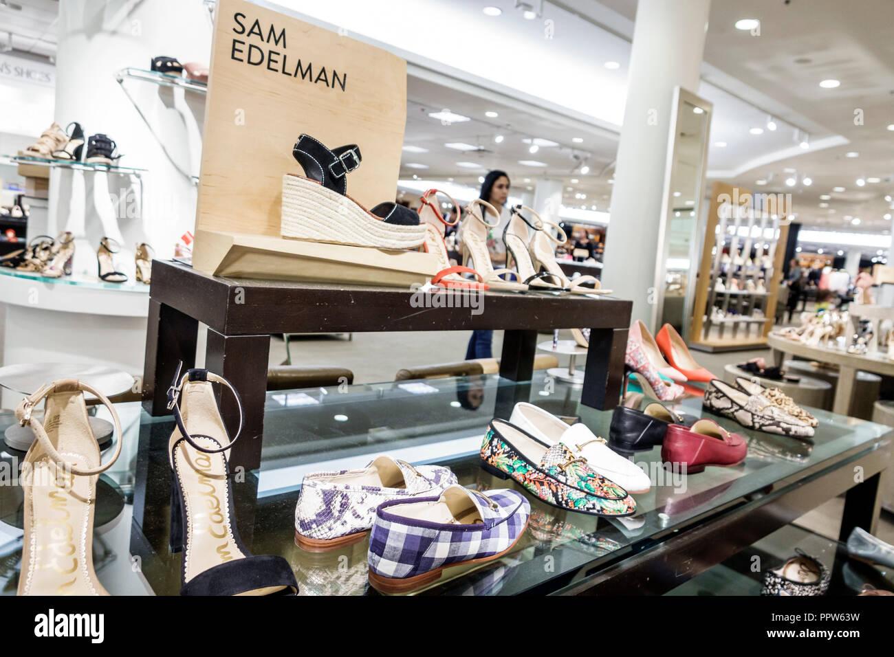 d21b0dec5c Floride Miami Dadeland Mall Kendall Nordstrom Department Store à l'intérieur  shopping Sam Edelman designer shoes women's vente d'affichage
