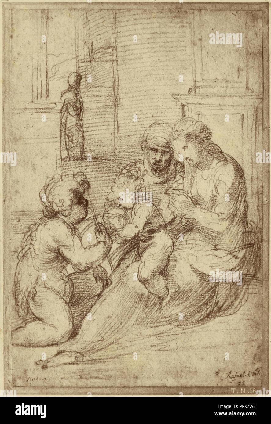Reproduction D Un Dessin De Raphael Charles Marville Francais