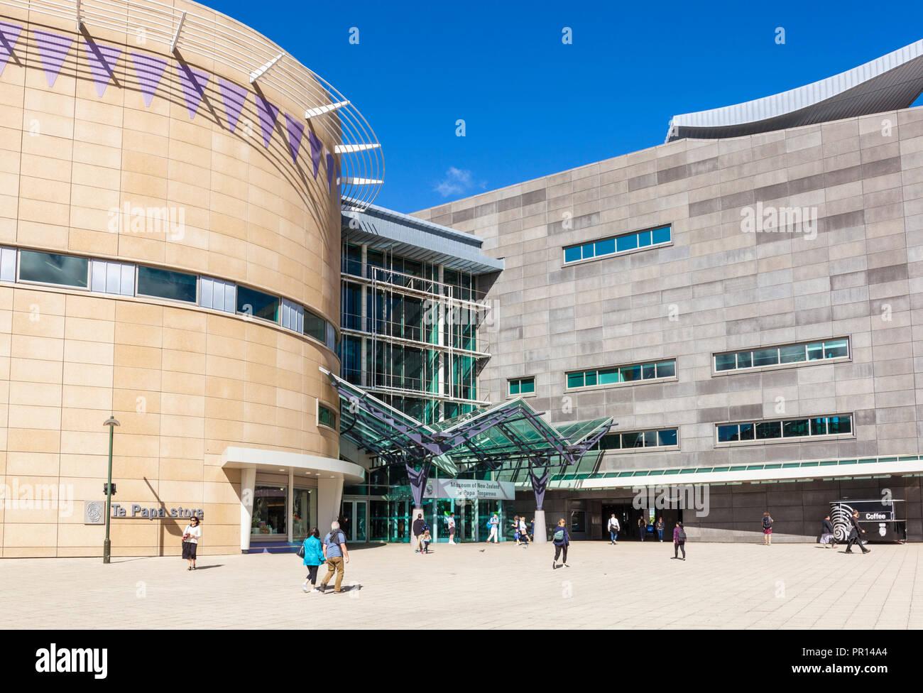 Museum of New Zealand Te Papa Tongarewa, National Museum and Art Gallery, Wellington, Île du Nord, Nouvelle-Zélande, Pacifique Banque D'Images