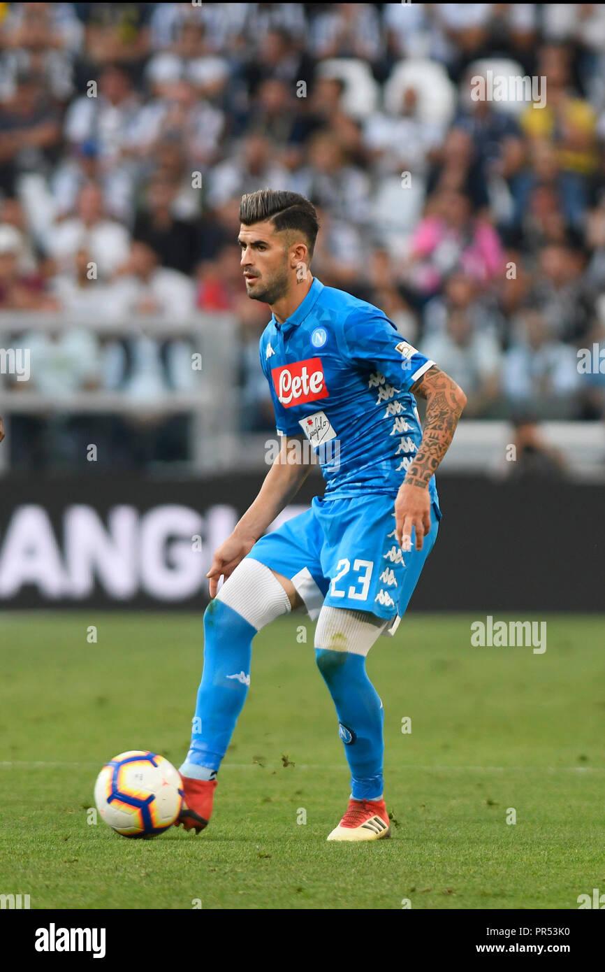 Allianz Stadium Turin Italie Sep 29 2018 Football Serie A La
