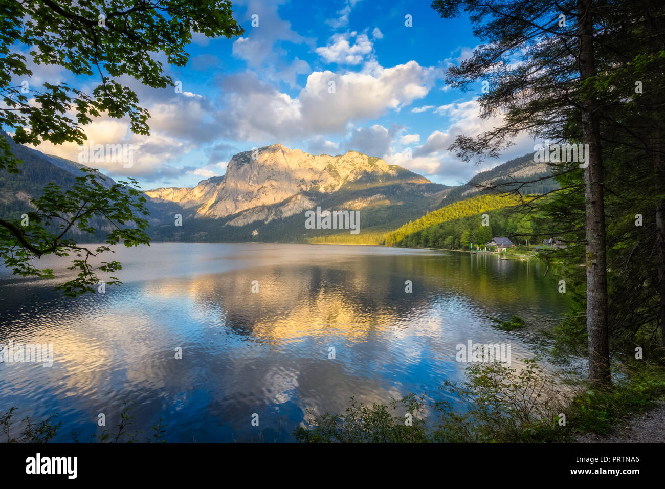 Altaussee, Autriche Photo Stock