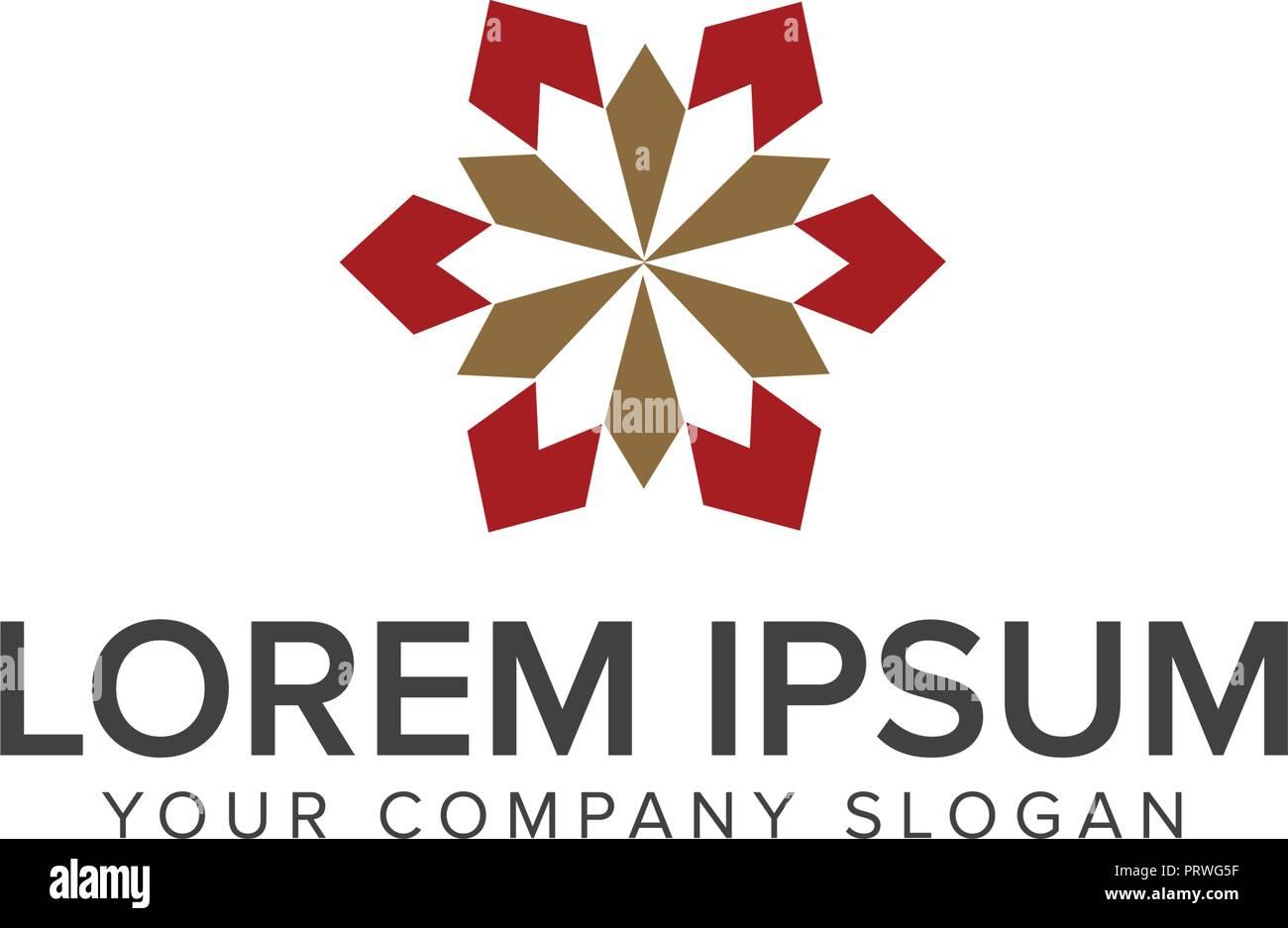 Décoration d\'intérieur conception de logo modèle concept ...