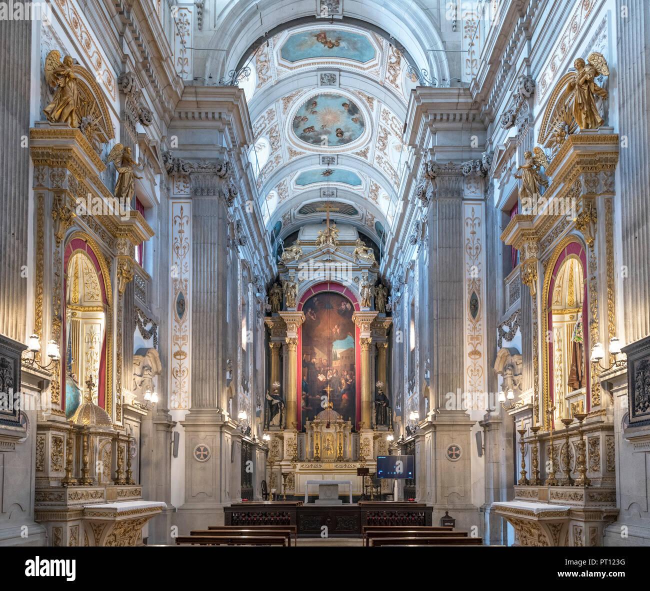 Igreja dos Terceiros de São Francisco (Église du Tiers Ordre de Saint François), l'Ordre de Saint François Museum, Porto, Portugal Photo Stock